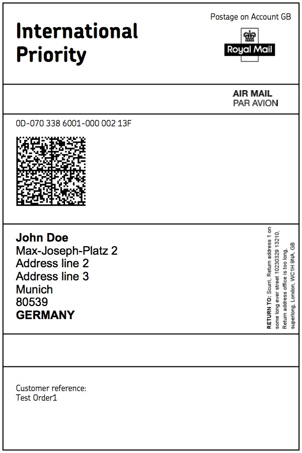 Sample Address Label Blank Address Label Template Sample Address